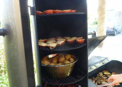 Restaurant Waldesblick BBQ Smoker