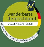 Qualitaetsgastgeber Wanderbares Deutschland